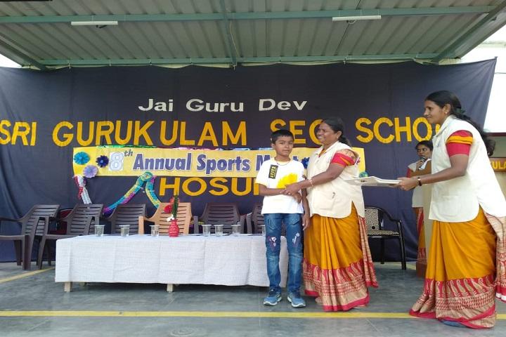 Sri Gurukulam Secondary School-price distribution