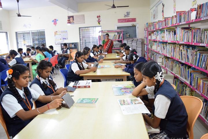 Sri Gurukulam Secondary School-Library