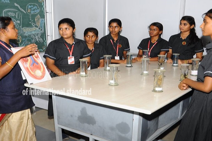 Sri Kumaran Public School-biologylab