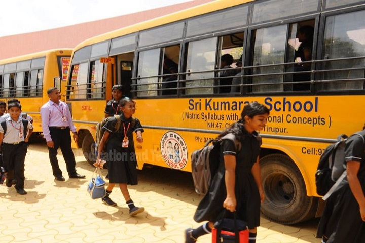 Sri Kumaran Public School-bus transport