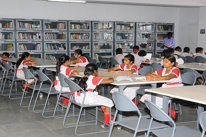 Sri Kumaran Public School-library