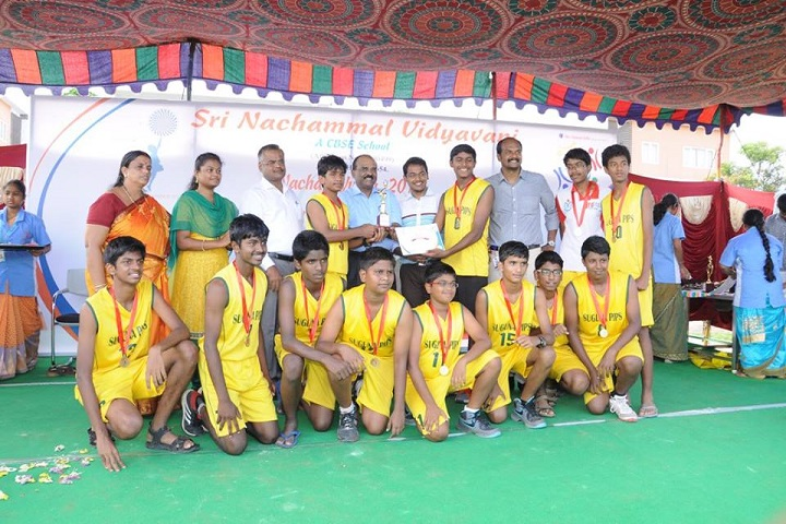 Sri Nachammal Vidyavani-sports
