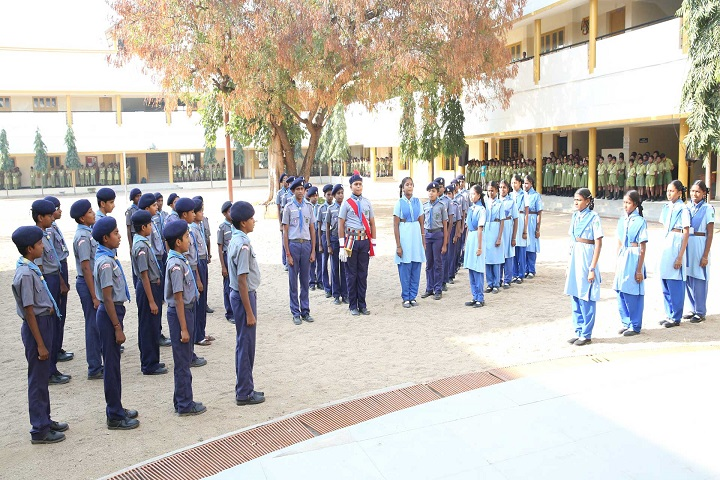 Sri Narayani Vidyashram School-scouts