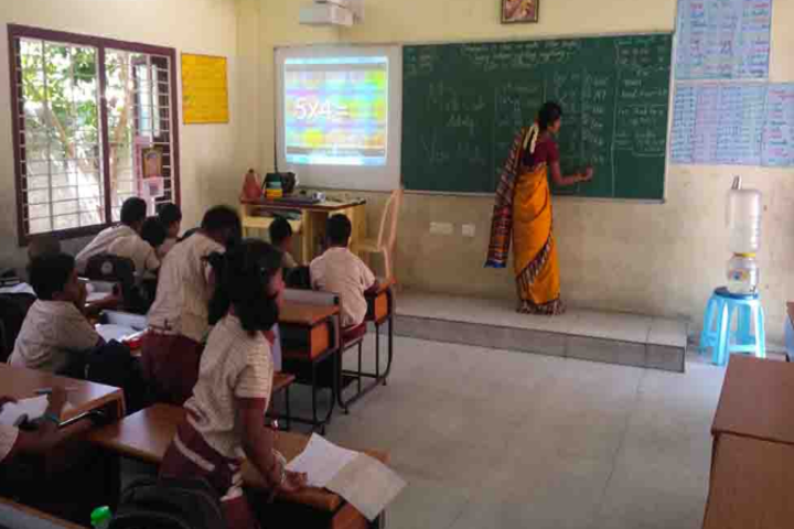 Sri Narayani Vidyashram School-Classroom