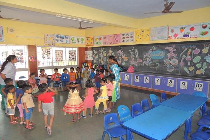 Sri R M Jain Vidhyashram-classroom kg