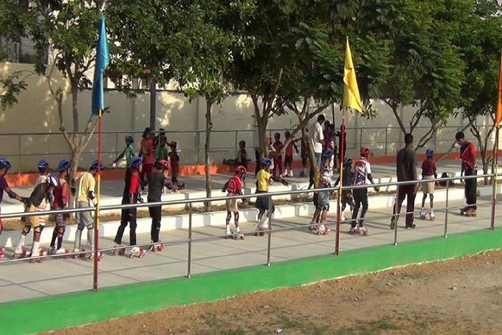 Sri R M Jain Vidhyashram-skating