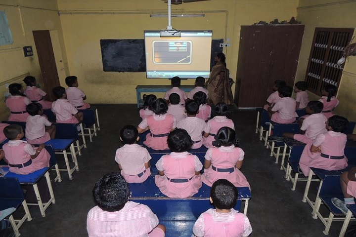 Sri R M Jain Vidhyashram-smart classroom
