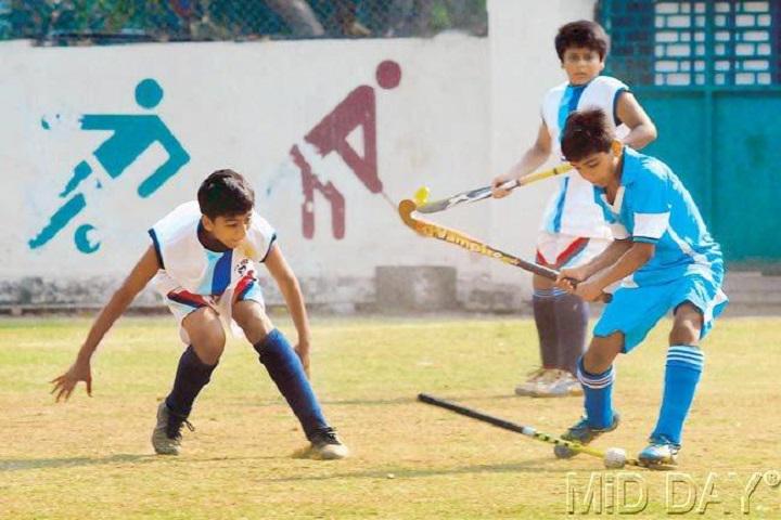 Sri Raja Vidya Vikaas School-hockey