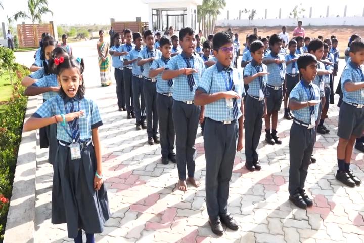 Sri Raja Vidya Vikaas School-prayer