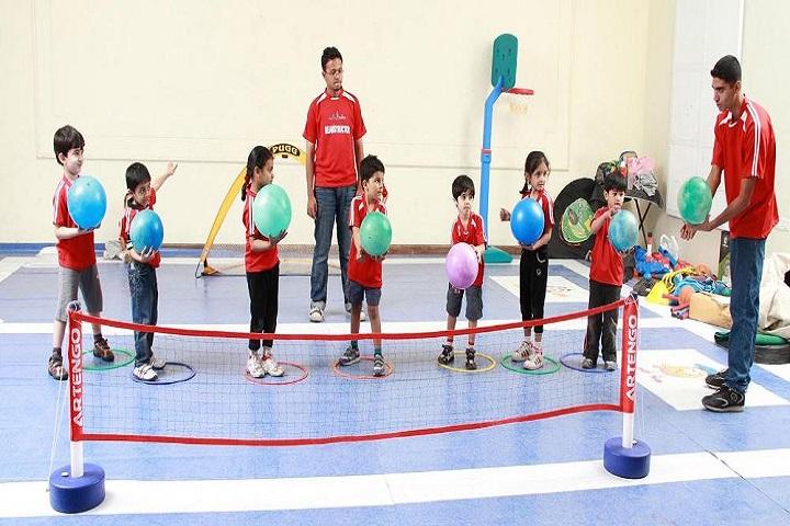 Sri Raja Vidya Vikaas School-volleyball