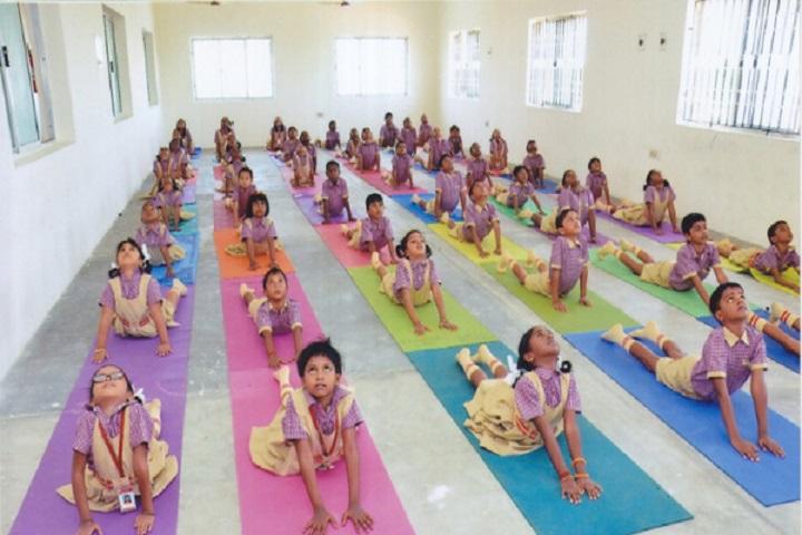 Sri ram Vidhya mandir school-yoga
