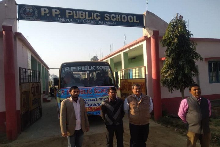 Prerna Punj Public School-Campus Entrances