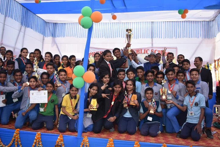 Prerna Punj Public School-Sports Winner