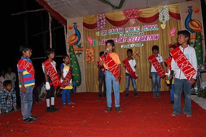 Sri Sai Ram Public School-Singing