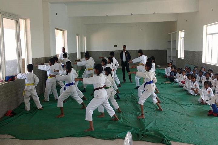 Sri Sai Vidyashram-Karate Activity