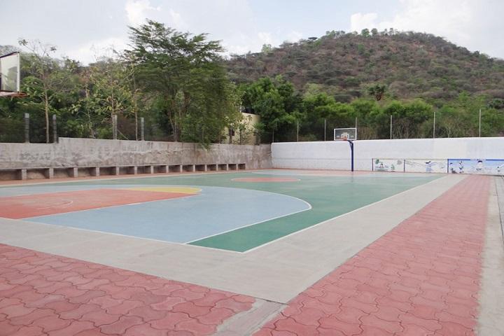 Sri Seshaas International Public School-Basketball