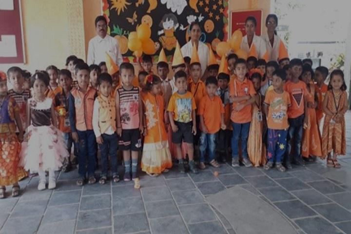 Sri Siksha Kendra International School-KG Orange Day