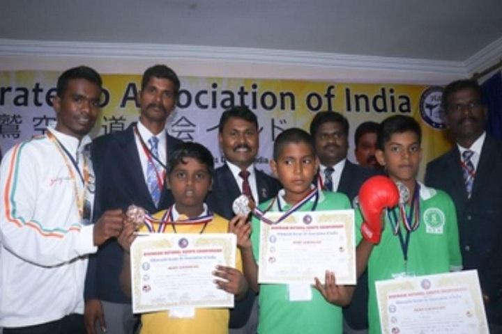 Sri Siksha Kendra International School-Karate Awards