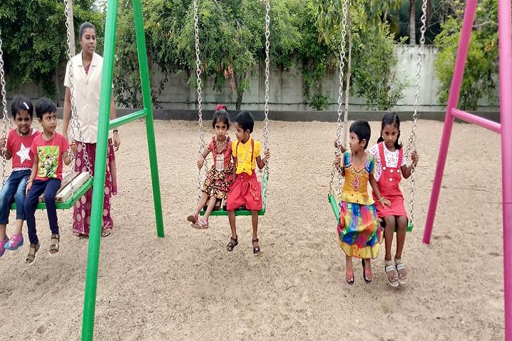 Sri Siksha Kendra International School-Kids Play Area