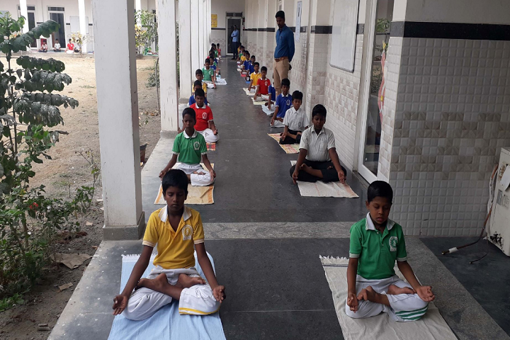 Sri Siksha Kendra International School-Yoga