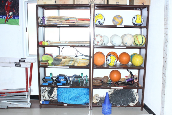 Sri Swamy International School-Sports room
