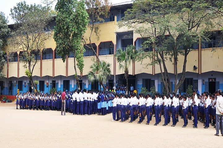Sri Vidya Mandir Higher Secondary School-Building