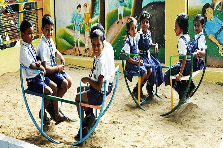 Sri Vidya Mandir Higher Secondary School-Play Area