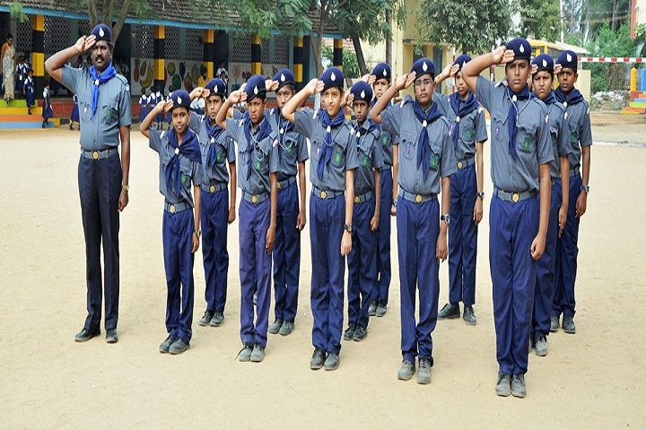Sri Vidya Mandir Higher Secondary School-Scouts