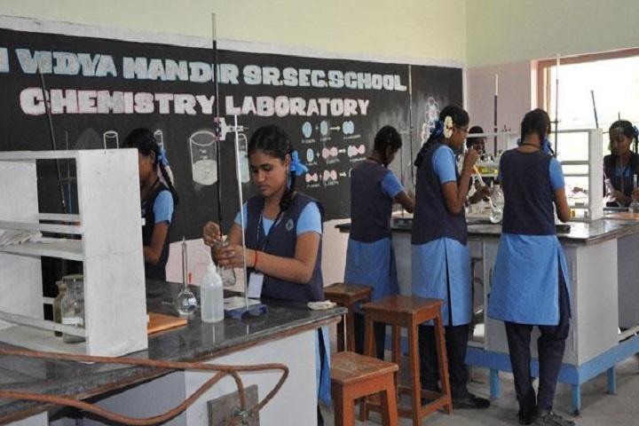 Sri Vidya Mandir Higher Secondary School-Chemistry Lab