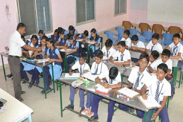 Sri Vidya Mandir Higher Secondary School-Classroom