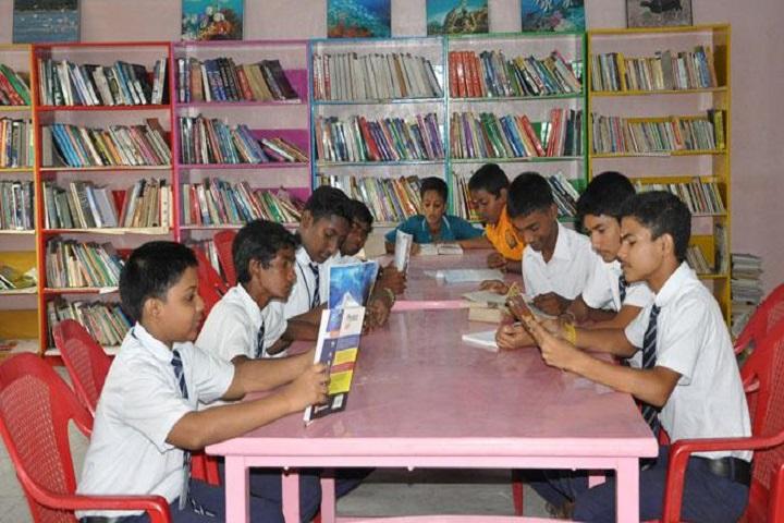 Sri Vidya Mandir Higher Secondary School-Library