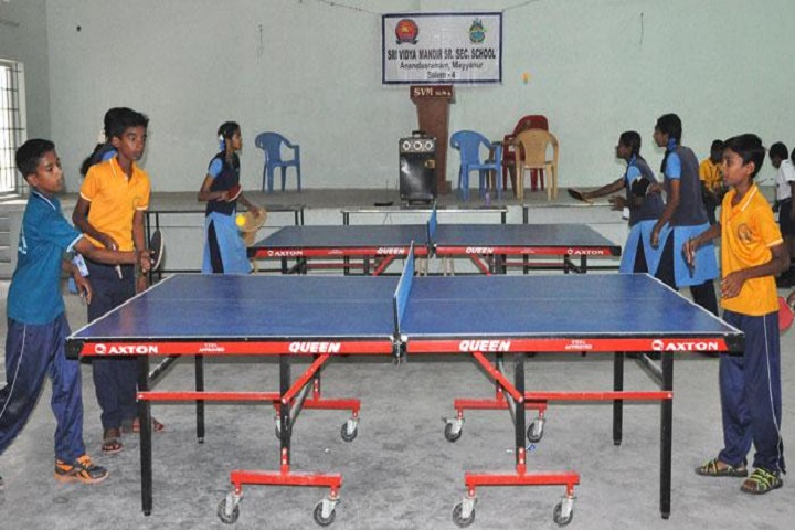 Sri Vidya Mandir Higher Secondary School-Table Tennis