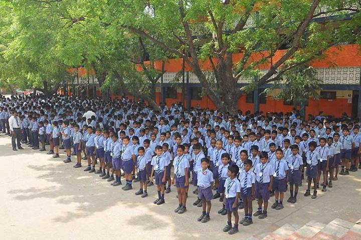 Sri Vidya Mandir Secondary School-Assembly
