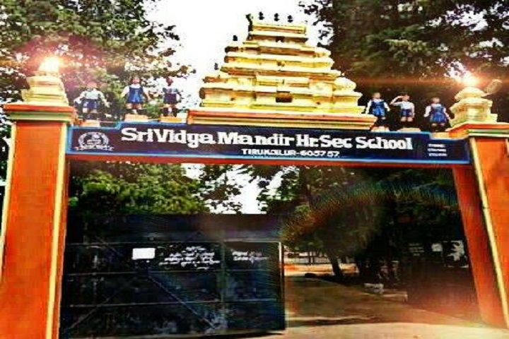 Sri Vidya Mandir Secondary School-Front View