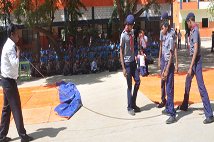 Sri Vidya Mandir Secondary School-Scouts