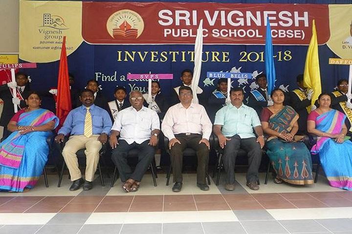 Sri Vignesh Public School-Investitue
