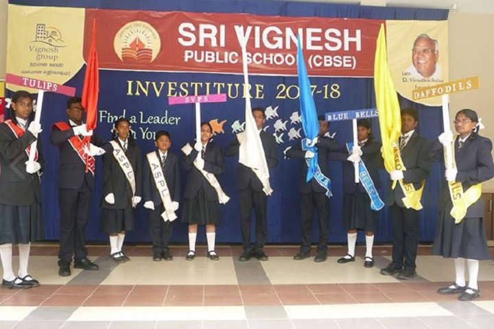 Sri Vignesh Public School-Investitue1