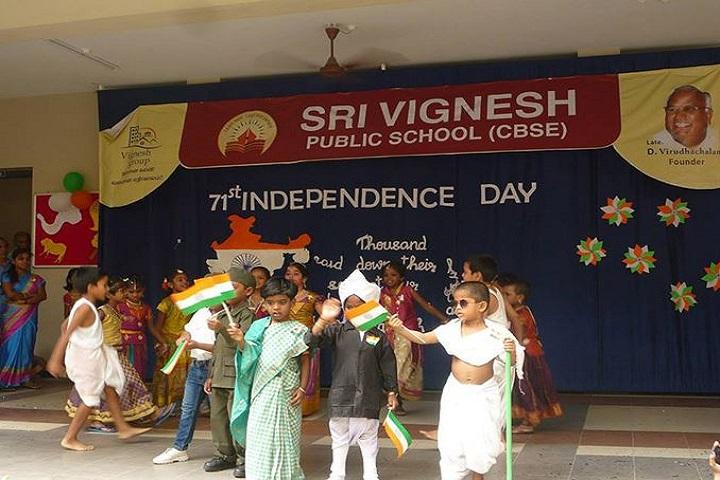 Sri Vignesh Public School-independence day