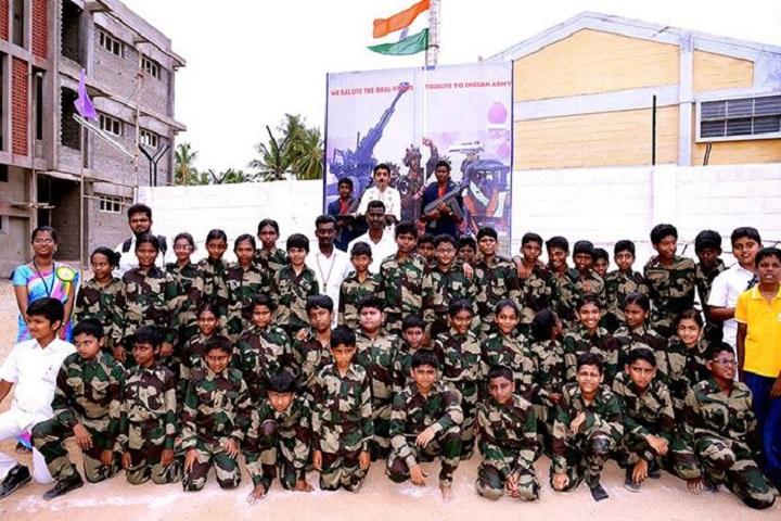 Sri Vignesh Public School-independence day1
