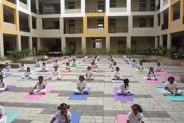 Sri Vignesh Public School-yoga