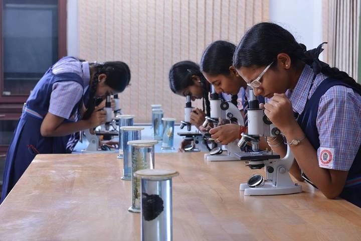 Sri Vignesh Vidyalaya School-Biology Lab