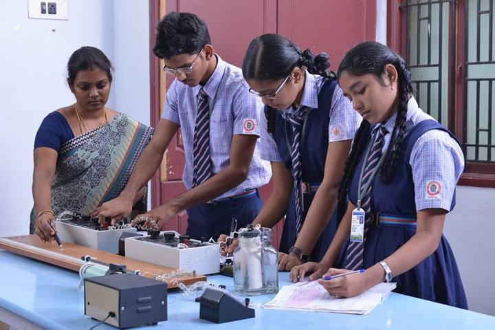Sri Vignesh Vidyalaya School-Physics Lab