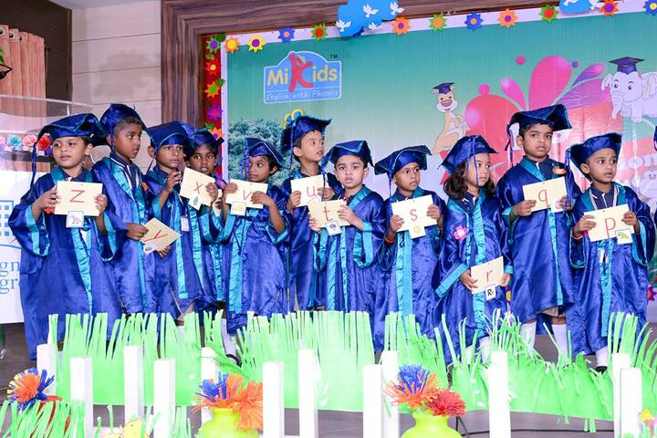 Sri Vignesh Vidyalaya School-Graduation Day