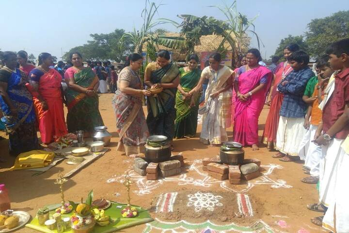 Sri Vignesh Vidyalaya School-Sankranthi Celebrations