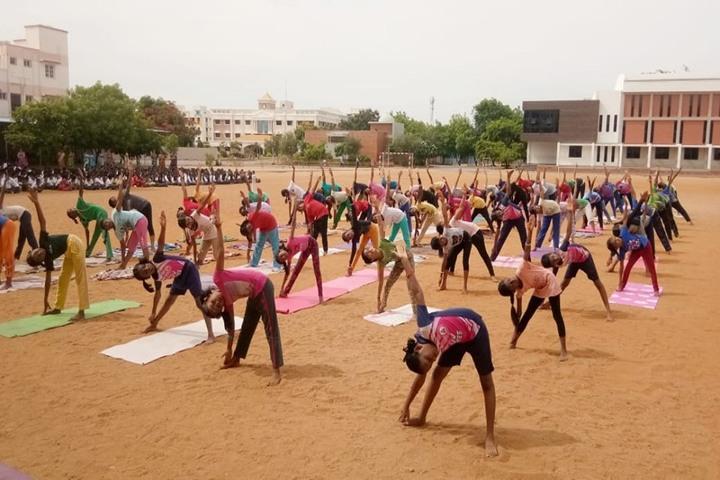 Sri Vignesh Vidyalaya School-Yoga