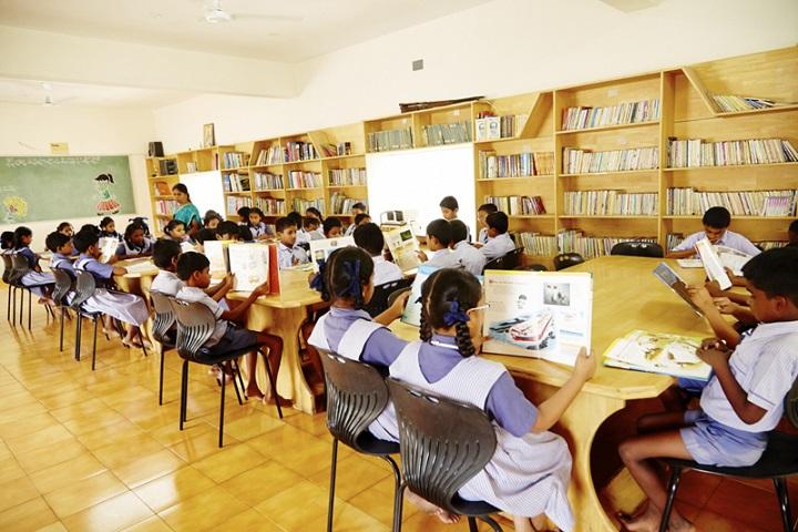 Sri Vijay Vidyashram-Library