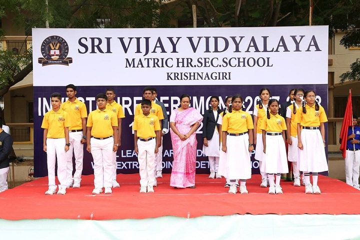 Sri Vijay Vidyashram-investiture cermony