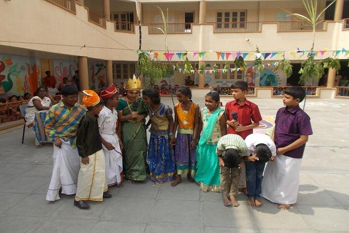 Sri Vijay Vidyashram-pongal celebration