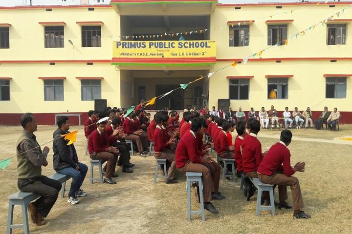 Primus Public School-Students