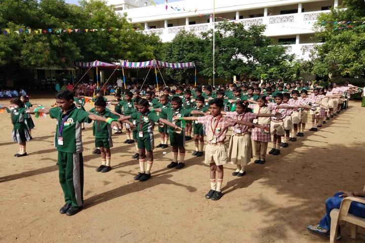 Sri Vinayaga International School-Morning Assembly